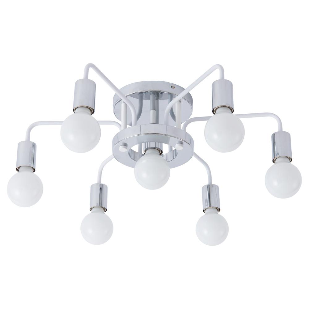 Фото - Люстра Arte Lamp GELO A6001PL-7WH люстра потолочная arte lamp gelo a6001pl 9bk