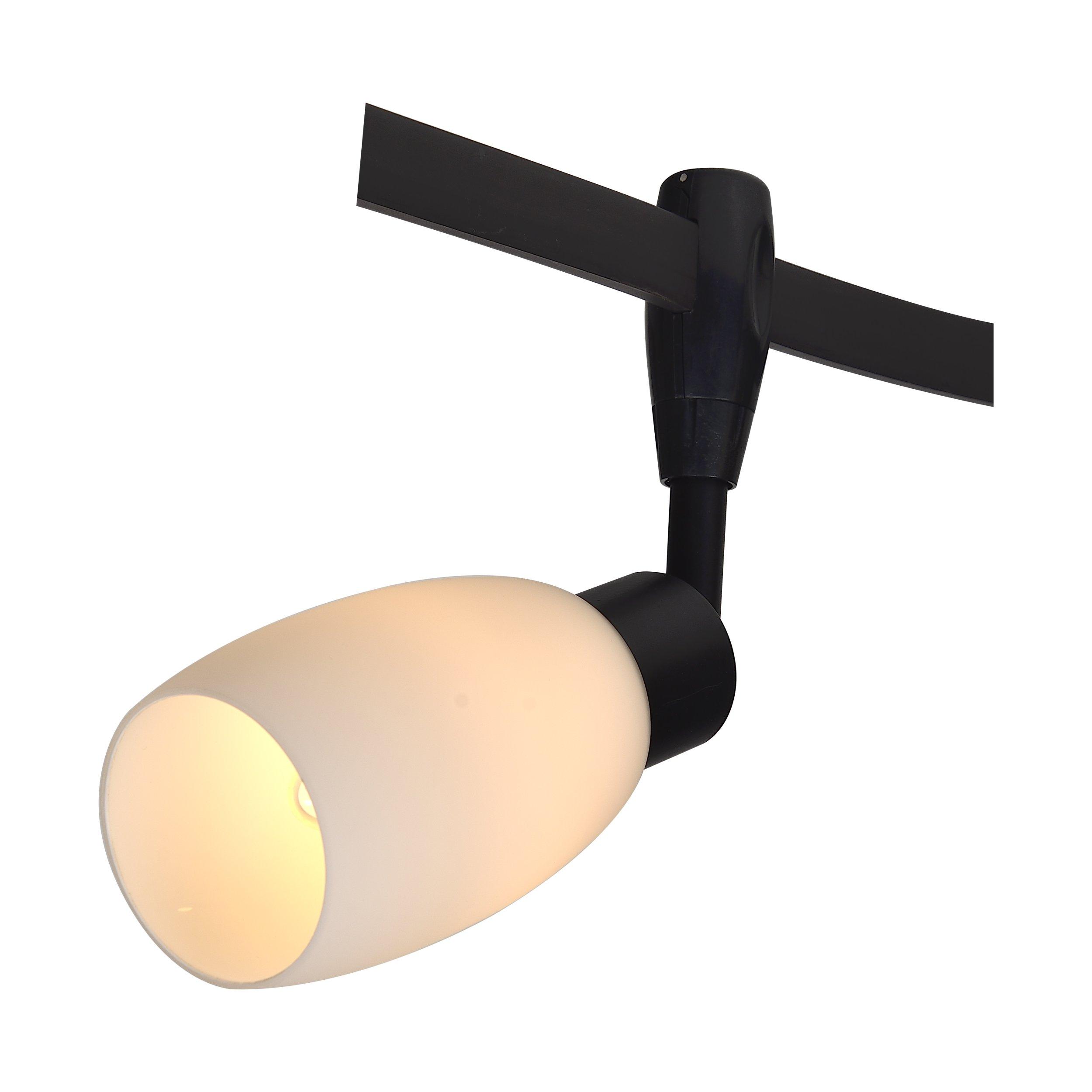 Трековый светильник Arte Lamp RAILS HEADS A3059PL-1BK