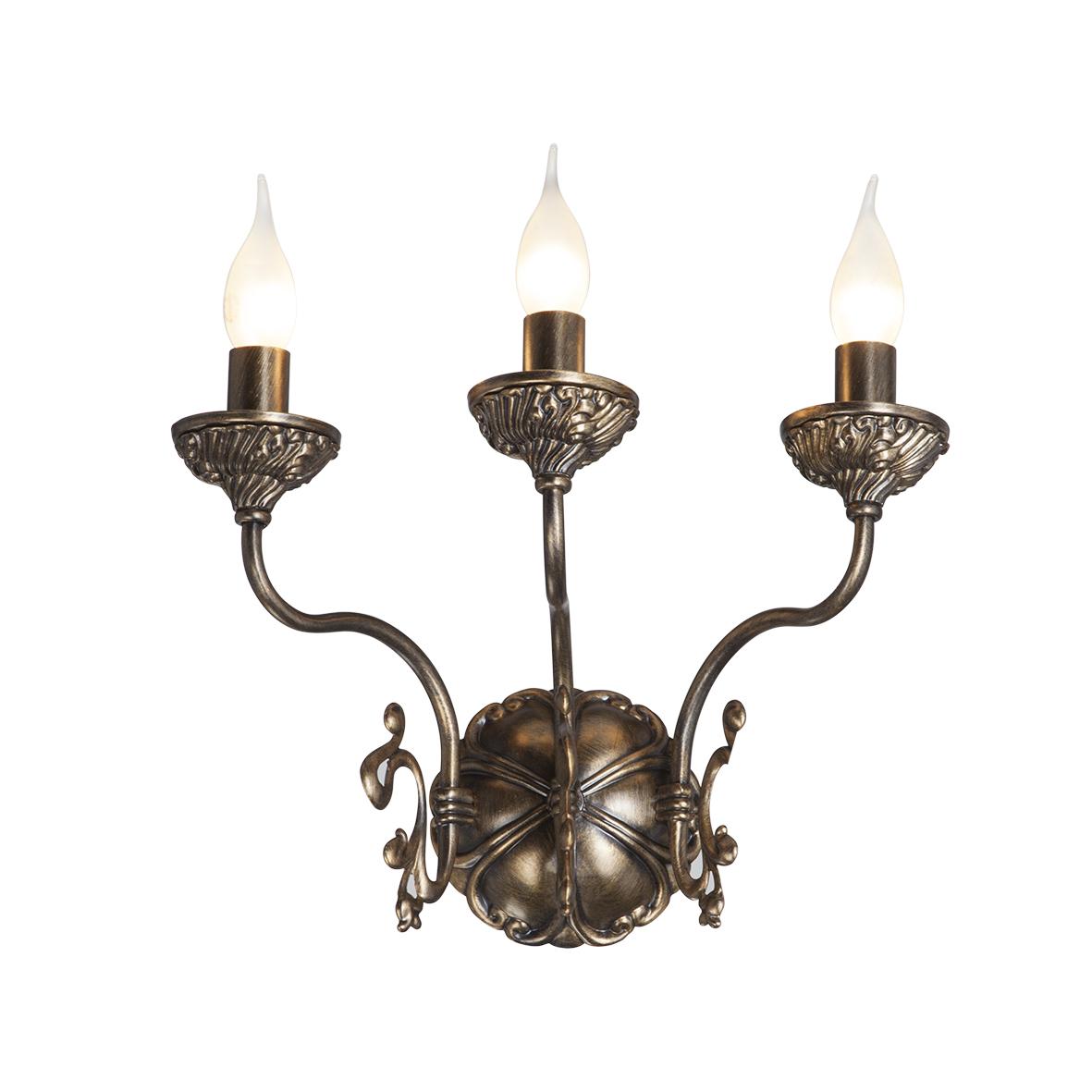 Бра Vitaluce V1115/3A настенный светильник vitaluce v1115 3a 180 вт