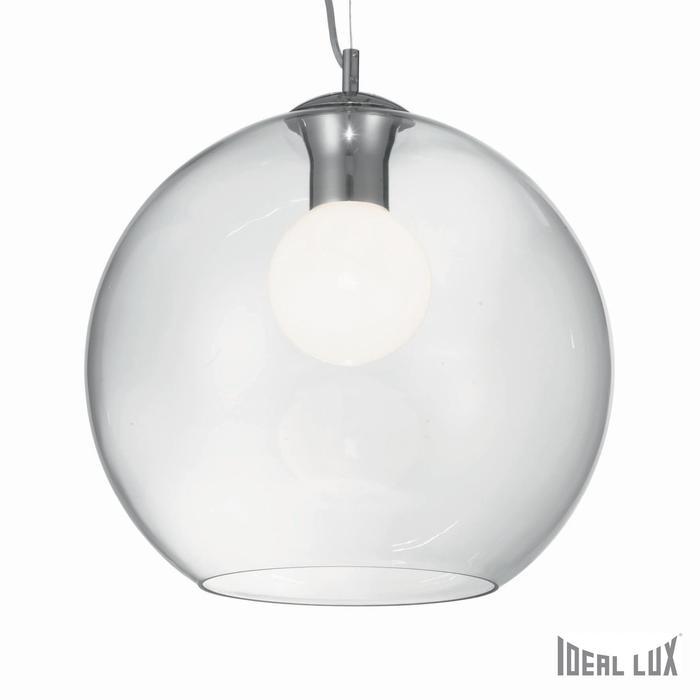 Светильник Ideal Lux NEMO SP1 D40 TRASPARENTE светильник ideal lux emis sp1 d40